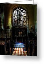 Chapel Greeting Card by Svetlana Sewell