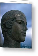 Charioteer Of Delphi Greeting Card by Photo Researchers