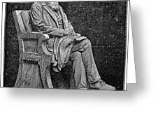 CHARLES DARWIN (1809-1882) Greeting Card by Granger
