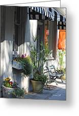 Charleston Shop - French Quarter Greeting Card by Suzanne Gaff