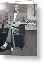 Charley Patton Greeting Card by Patrick Kelly