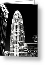 Charlotte North Carolina Bank Of America Building Greeting Card by Kim Fearheiley