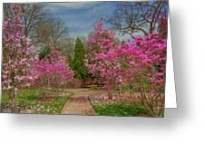 Cheekwood Gardens Greeting Card by Charles Warren