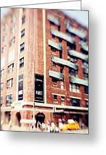 Chelsea Market New York City Greeting Card by Kim Fearheiley