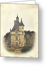 Chennonceau Castle Greeting Card by Paul Topp