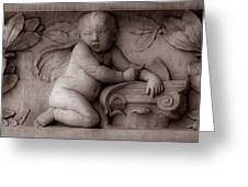 Cherubs 3 Greeting Card by Andrew Fare