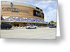 Chesapeake Arena Greeting Card by Malania Hammer