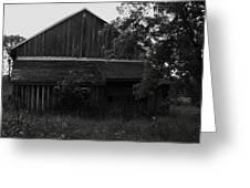 Chet's Barn Greeting Card by Anna Villarreal Garbis