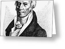 Chevalier De Lamarck Greeting Card by Granger