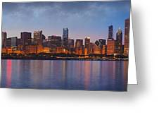 Chicago's Beauty Greeting Card by Donald Schwartz