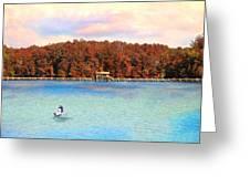 Chickasaw Bridge Greeting Card by Jai Johnson