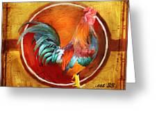 Chicken Little Greeting Card by Joel Payne