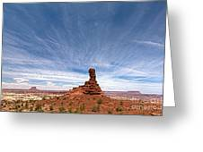 Chimney Rock Mind Set Greeting Card by Scotts Scapes