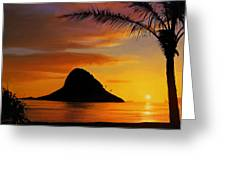 Chinaman's Hat Island Greeting Card by Dale Jackson