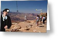 Chinese Buy Grand Canyon-2 Greeting Card by Larry Mulvehill