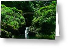 Chings Pond  Greeting Card by Ken Smith