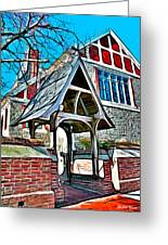Christ Church Of St Michaels Greeting Card by Stephen Younts