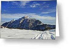 Christmas In Austria Europe Greeting Card by Sabine Jacobs