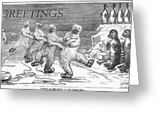 Christmas: Polar Bears Greeting Card by Granger