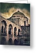 Church Arches And Dome Greeting Card by Jill Battaglia