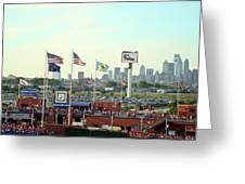 Citizens Bank Park 3 Greeting Card by See Me Beautiful Photography