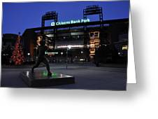 Citizens Bank Park Greeting Card by Andrew Dinh