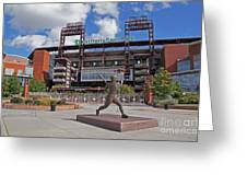 Citizens Park 2 Color Greeting Card by Jack Paolini