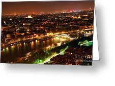 City of Light Greeting Card by Elena Elisseeva