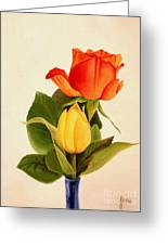 Clarity Greeting Card by Jane Autry