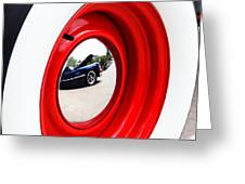 Classic Cars 042 Greeting Card by Charley Starnes