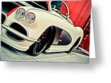 Classic Corvette Greeting Card by Merrick Imagery