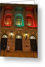 Cleveland Courthouse Greeting Card by Frozen in Time Fine Art Photography