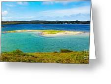 Clifden Bay Greeting Card by Gabriela Insuratelu