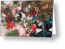 Close Up Greeting Card by HollyWood Creation By linda zanini