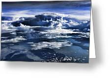 Cloud Formations V2 Greeting Card by Douglas Barnard