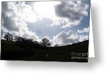 Clouds Greeting Card by Roberto Edmanson-Harrison