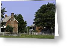 Clover Hill Tavern and Kitchen Appomattox Virginia Greeting Card by Teresa Mucha