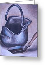 Coal Pail Greeting Card by Mikayla Henderson