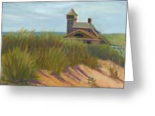 Coast Guard Beach Cape Cod Greeting Card by Phyllis Tarlow