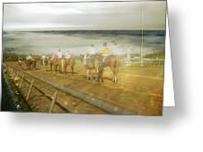 Coast Line Greeting Card by Betsy C  Knapp