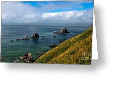 Coastal Look Greeting Card by Robert Bales