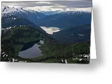 Coastal Range Tranquility Greeting Card by Mike Reid