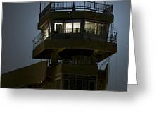 Cob Speicher Control Tower Greeting Card by Terry Moore