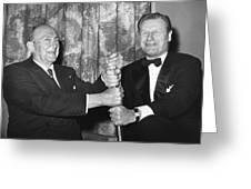 Cobb & Rockefeller, 1960 Greeting Card by Granger