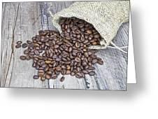 Coffee Beans Greeting Card by Joana Kruse