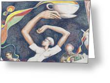Coffee Greeting Card by Vincent Randlett III