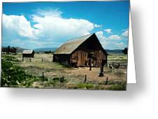 Colorado Farm Greeting Card by Melanie Whitaker