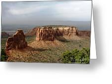 Colorado National Monument Greeting Card by Patricia Januszkiewicz