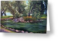 Colorado Pond Greeting Card by Stephen  Hanson