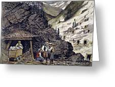 Colorado Silver Mines, 1874 Greeting Card by Granger